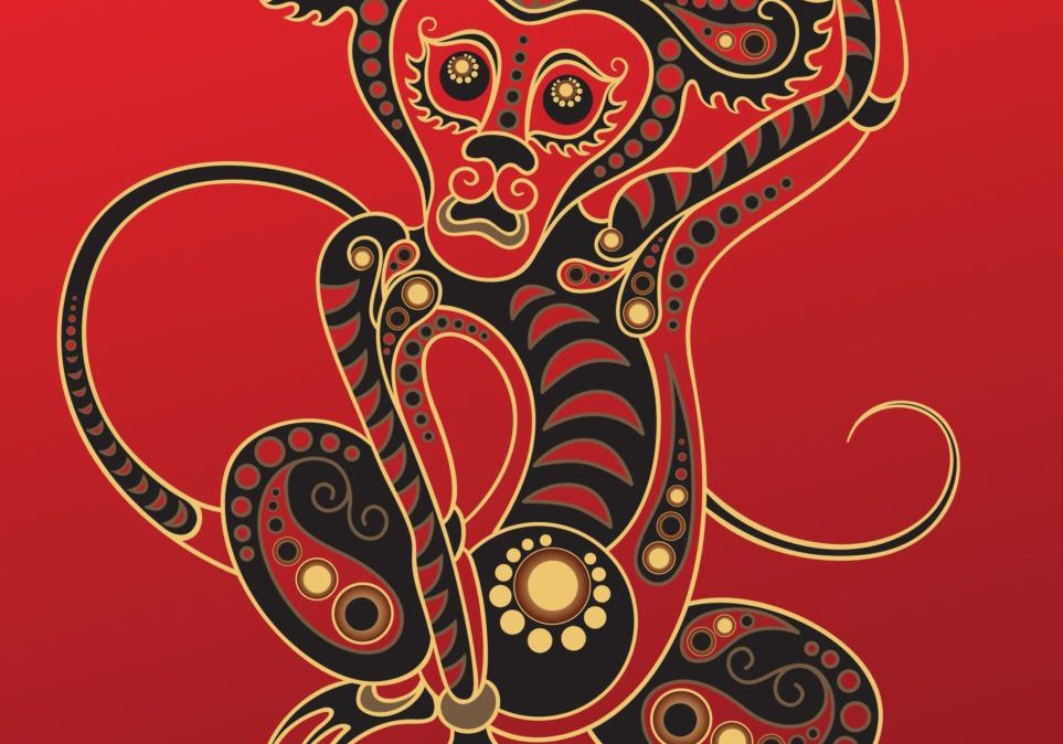 10501887 - chinese horoscope. year of the monkey